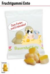 Fruchtgummi Ente Werbeartikel