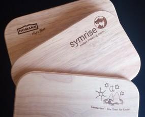 Holzbrettchen - langlebige Werbeartikel